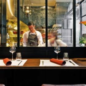 Le Flacon restaurant étoilé à Carouge