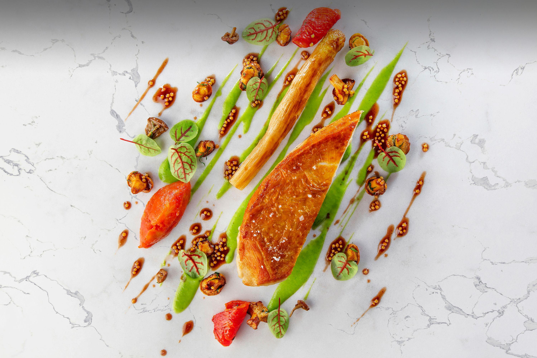 Menu affaires restaurant Le Flacon Genève