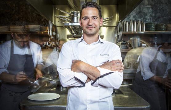 Yoann Caloué chef étoilé restaurant Le Flacon